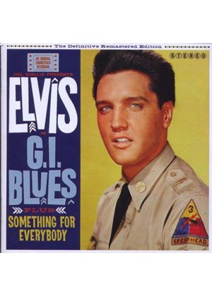 Elvis Presley - GI Blues + Something for Everybody (Music CD)