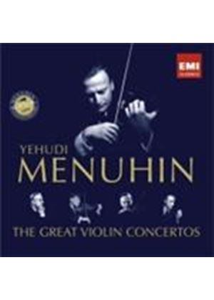 Yehudi Menuhin - The Great Violin Concertos 10th Anniversary (Music CD)