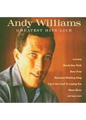 Andy Williams - Greatest Hits Live (Music CD)