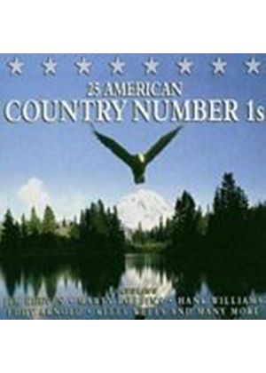 Various Artists - 25 American Country Number 1s (Music CD)