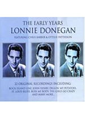 Lonnie Donegan - The Early Years Feat. Chris Barber And Ottilie Patterson (Music CD)