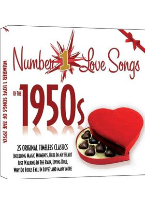 Various Artists - No.1 Love Songs of the 1950s (Music CD)
