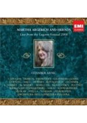Martha Argerich - Live From Lugano 2008 (Music CD)