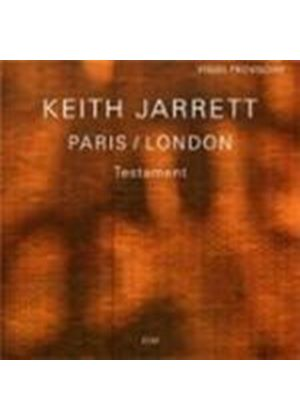 Keith Jarrett - Testament (Paris/London) (Music CD)