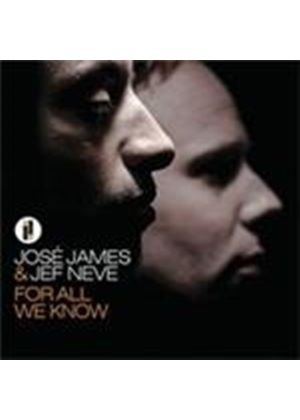 Jose James & Jef Neve - For All We Know (Music CD)