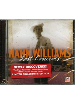 Hank Williams - Lost Concerts (Limited Edition/Live Recording) (Music CD)
