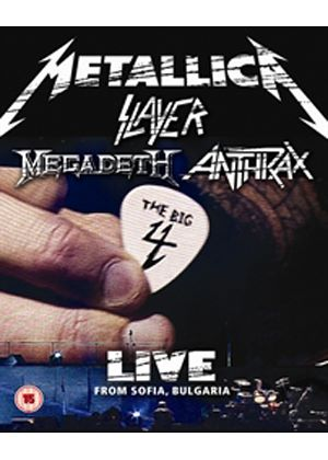 Sonisphere - Metallica / Slayer / Megadeth / Anthrax - The Big Four - Live From Sofia Bulgaria (Blu-Ray)