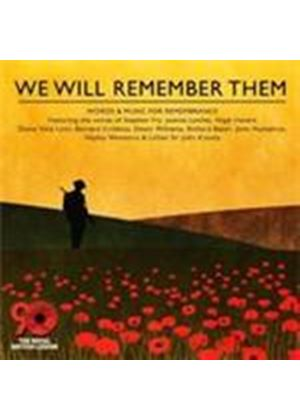 Various Artists - We Will Remember Them (Music CD)