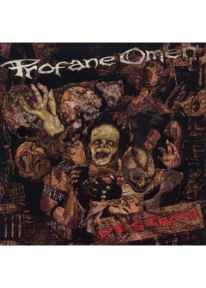 Profane Omen - Destroy! (Music CD)