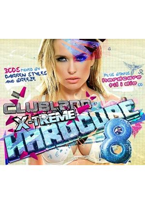 Various Artists - Clubland X-treme Hardcore 8 (Music CD)