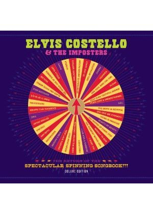 Elvis Costello - Return of the Spectacular Spinning Songbook!!! (CD & DVD Live Recording) (Music CD)