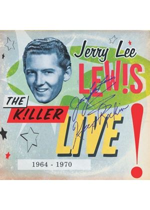 Jerry Lee Lewis - The Killer Live - 1964 To 1970 (Music CD)