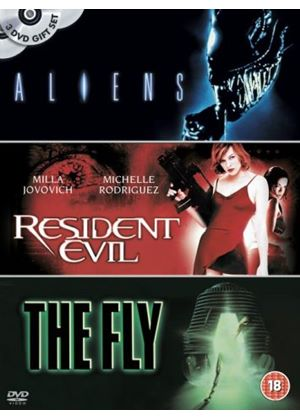 Aliens / Resident Evil / The Fly (Three Discs)