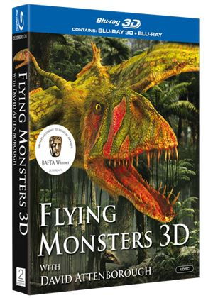 Flying Monsters (Blu-ray 3D)