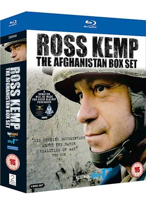Ross Kemp Afghanistan and Return to Afghanistan Box Set (Blu-Ray)