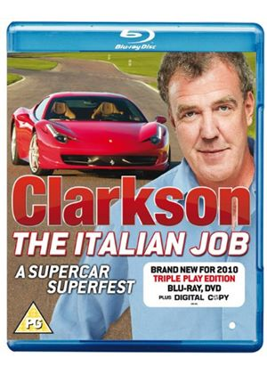 Clarkson The Italian Job Triple Play (Blu-ray, DVD + Digital copy)