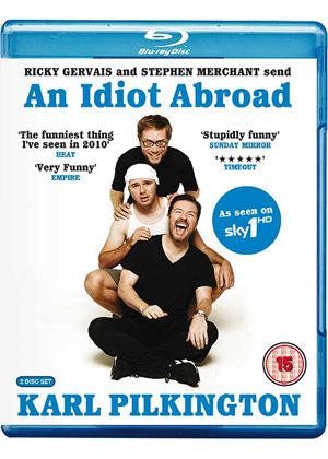 An Idiot Abroad (Blu-Ray)