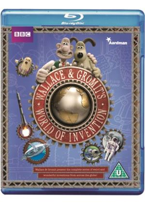 Wallace and Gromit's World of Inventions (Blu-ray)