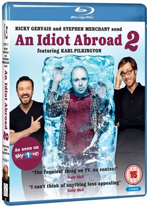 An Idiot Abroad - Series 2 (Blu-ray)