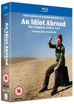 An Idiot Abroad Box Set - Series 1 and 2 (Blu-ray)
