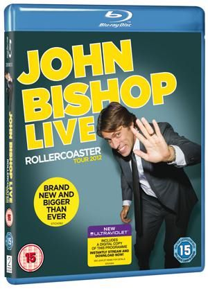 John Bishop Live - Rollercoaster Tour 2012 (Blu-Ray)