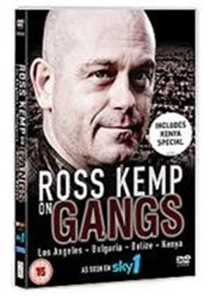 Ross Kemp On Gangs - Series 4 -  Los Angeles / Bulgaria / Belize / Kenya