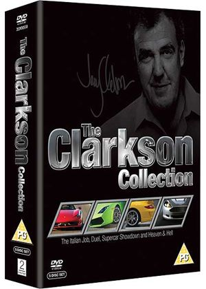 The Clarkson Collection (Jeremy Clarkson) (The Italian Job / Duel / Heaven and Hell / Supercar Showdown)
