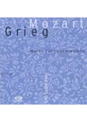 Mozart; Grieg: Two Piano Works (Music CD)