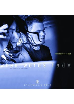 When Words Fade (Music CD)