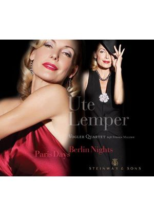 Ute Lemper - Paris Days, Berlin Nights (Music CD)