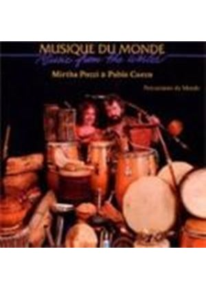 Mirtha Pozzi & Pablo Cueco - Percussions Du Monde (Music CD)