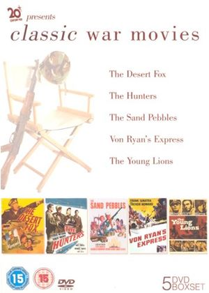 Studio Classic: Classic War Movies (Box Set) Von Ryans Express, The Young Lions, The Hunters, The Sand Pebbles,The Desert Fox