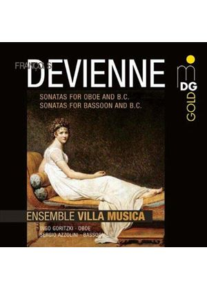 François Devienne: Sonatas for Oboe (Music CD)