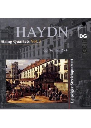 Haydn: String Quartets, Vol. 3 (Music CD)