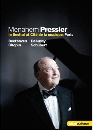 Menahem Pressler in Recital at Cité de la musique, Paris (Music CD)