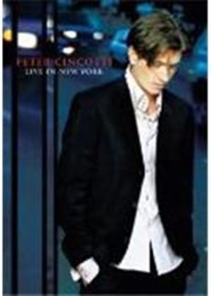 PETER CINCOTTI-LIVE IN NEW YOR(DVD)