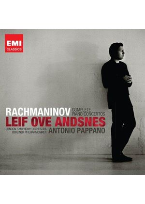 Rachmaninov: Complete Piano Concertos (Music CD)