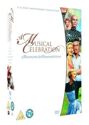 Rodgers And Hammerstein : A Musical Celebration - Carousel / The King and I / Oklahoma ! / The Sound of Music / South Pacific / State Fair (12 DVD Special Edition Box Set)