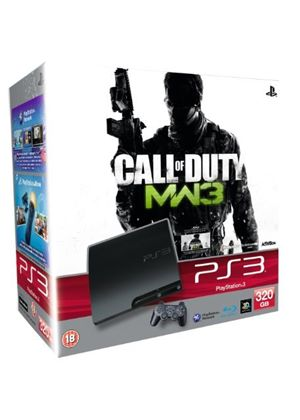 Sony PlayStation 3 Console (320GB Model) with Call of Duty: Modern Warfare 3 Bundle (PS3)