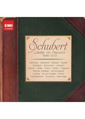 Schubert: Lieder on Record (1898-2012) (Music CD)