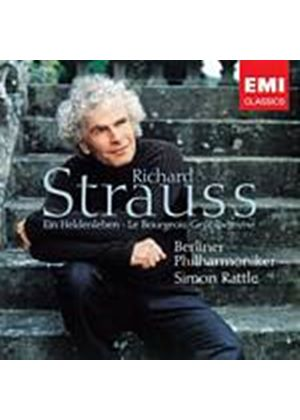 Richard Strauss - Ein Heldenleben Op. 40 (Rattle, Berlin PO) (Music CD)