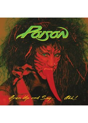 Poison - Open Up And Say...Ahh! (Music CD)