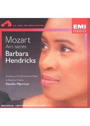 Mozart: Airs sacrés (Music CD)