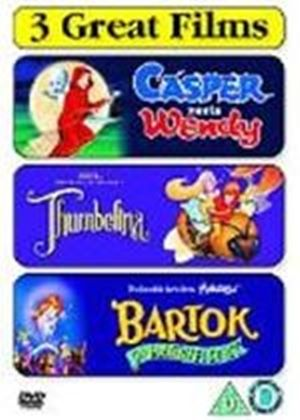 Casper Meets Wendy / Thumbelina / Bartok The Magnificent