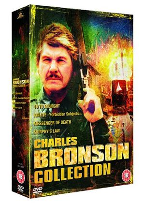 Charles Bronson Collection - Kinjite - Forbidden Subjects / Messenger Of Death / 10 To Midnight / Murphys Law