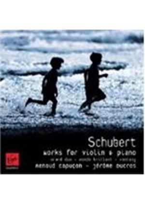 Schubert: Fantasie D934; Grand duo D574; Rondo brillant D895