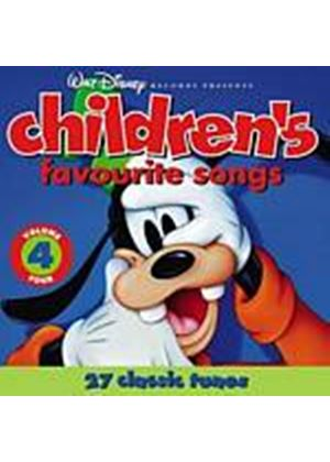 Various Artists - Childrens Favourite Songs 4 (Music CD)