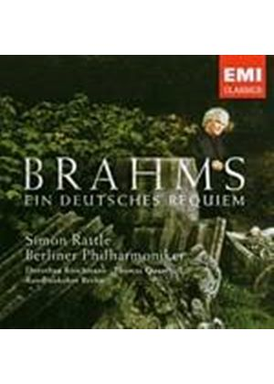 Johannes Brahms - A German Requiem (Berliner Philharmoniker) (Music CD)