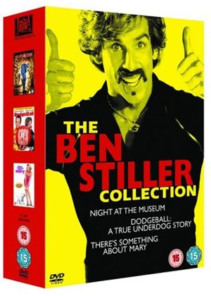 Ben Stiller Collection - Theres Something About Mary / Night At The Museum / Dodgeball