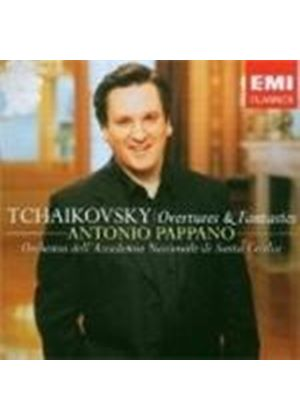 Tchaikovsky: Overtures and Fantasias (Music CD)